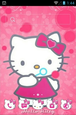 android theme 'Hello Kitty Pink'