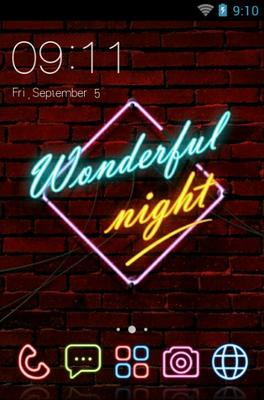 android theme 'Neon Light'