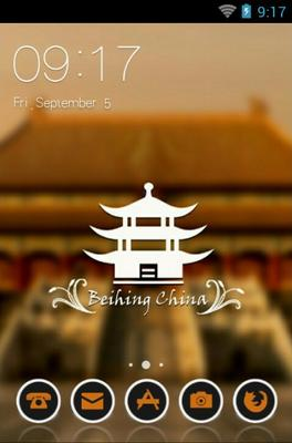 android theme 'Forbidden City'