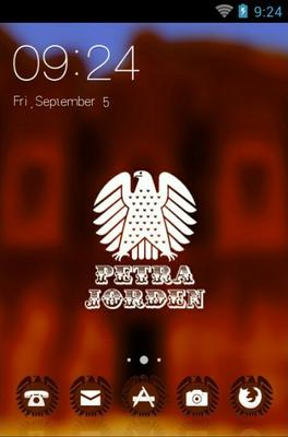 android theme 'Petra'