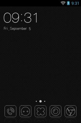 android theme 'Black And White'
