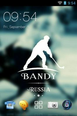 android theme 'Bandy Russia'