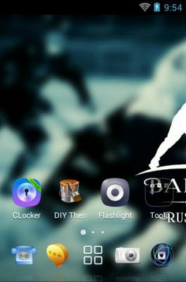Bandy Russia android theme home screen