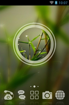 android theme 'Macro Nature'