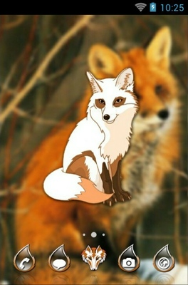 android theme 'Red Fox'