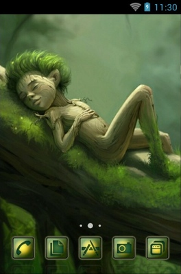 android theme 'Forest Sleep'