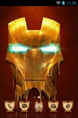 android theme 'Ironman'