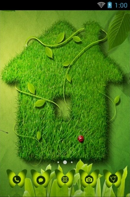 android theme 'Nature Abstract'