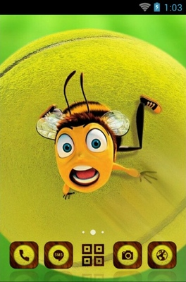 android theme 'Honey Bee'
