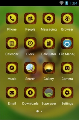 Honey Bee android theme