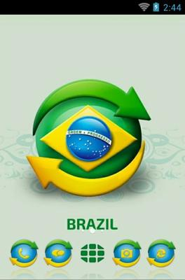 android theme 'Brazil'