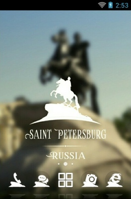 android theme 'Saint Petersburg'