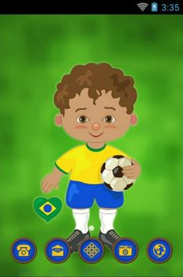 android theme 'Brazilian Boy'