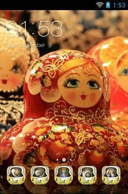 android theme 'Matryoshka Doll'