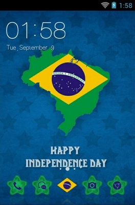 android theme 'Independence Day'