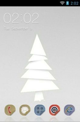 android theme 'Paper Art Theme'