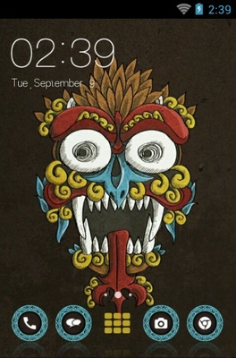 android theme 'Barong Creature'