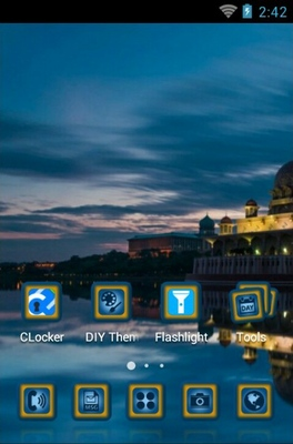 Jakarta Theme android theme home screen