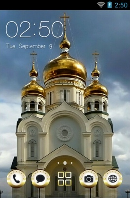 android theme 'Khabarovsk Cathedral'