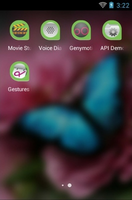 Flower Of Attachment android theme application menu