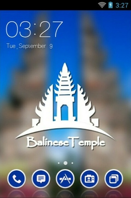 android theme 'Balinese Temple'