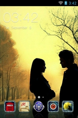 android theme 'The Vampire Diaries'