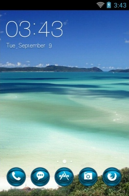 Queensland Island android theme