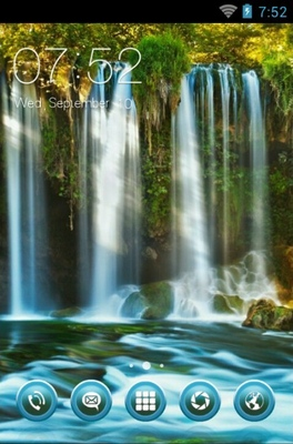 android theme 'Duden Waterfalls'