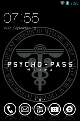 android theme 'Psycho-Pass'