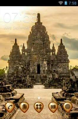 android theme 'Sewu Temple'