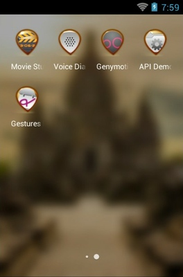 Sewu Temple android theme application menu