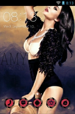 android theme 'Amy Jackson'
