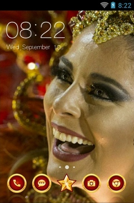 android theme 'Rio Carnival'