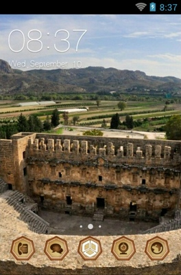 android theme 'Aspendos Theatre'