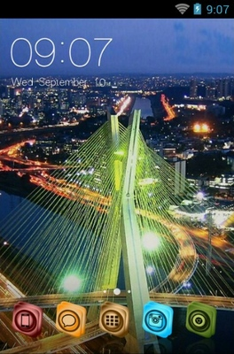 android theme 'Sao Paulo Bridge'
