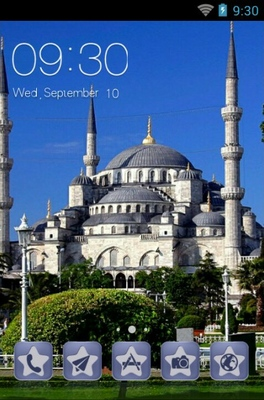 android theme 'Eminonu Square'