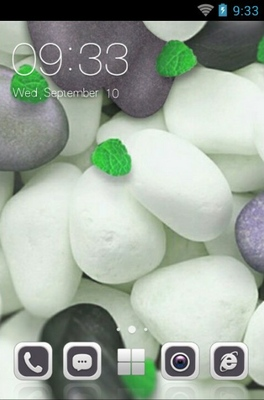android theme 'Simple White'
