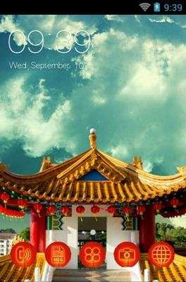 android theme 'Buddhist Temples'