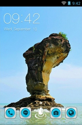android theme 'Bako Sea Stack'