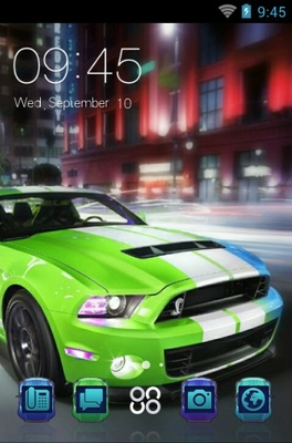 android theme 'Ford Mustang'