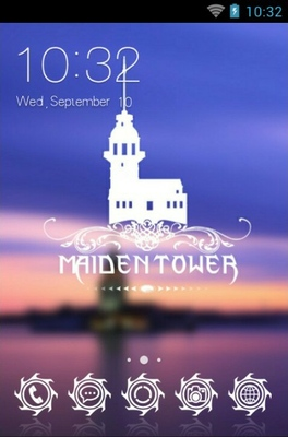 android theme 'Maiden Tower'