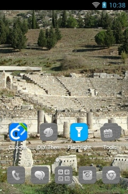 Ephesus Theatre android theme home screen