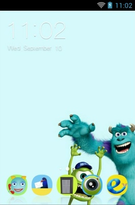 android theme 'Monsters University'