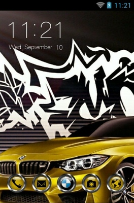 android theme 'BMW'