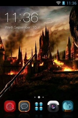 android theme 'Harry Potter'