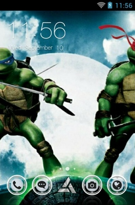 android theme 'Teenage Mutant Ninja'