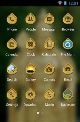 Batu Caves android theme application menu