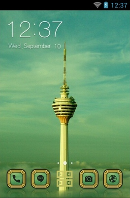 Kuala Lumpur Tower android theme
