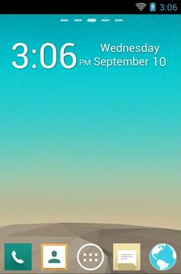 how to change theme lg g3