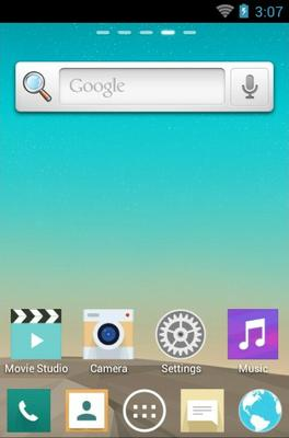 LG G3 android theme home screen
